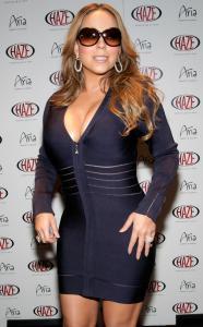 Mariah Carey Official End Of Tour Party At Haze Nightclub At CityCenter