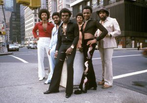 Isley Brothers On New York City Street