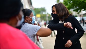 Kamala Harris Makes Her PA Debut In Philadelphia