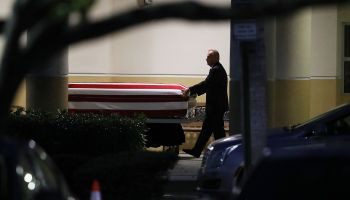 Viewing Held Ahead Of Funeral For U.S. Army Sargent Killed In Niger Ambush