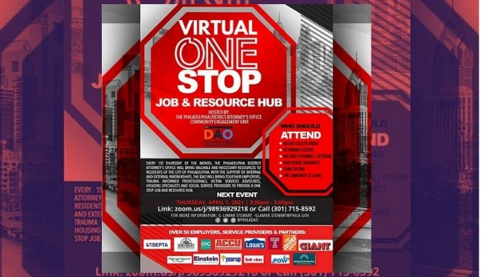 DAO April Virtual One Stop Job & Resource Hub