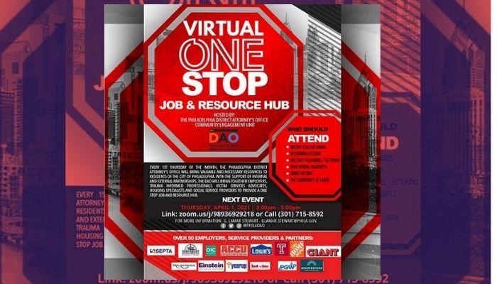 DAO April Virtual One Stop Job & Resource Hub
