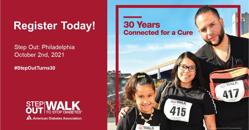 Step out diabeties radio one philadelphia 2021