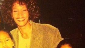 Brandi Burnside and Whitney Houston