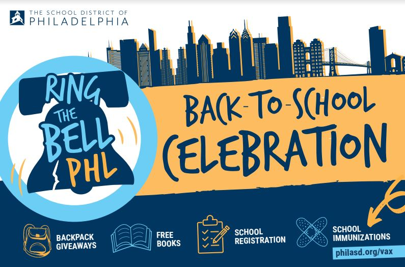 Ring the bell PHL back to school 2021