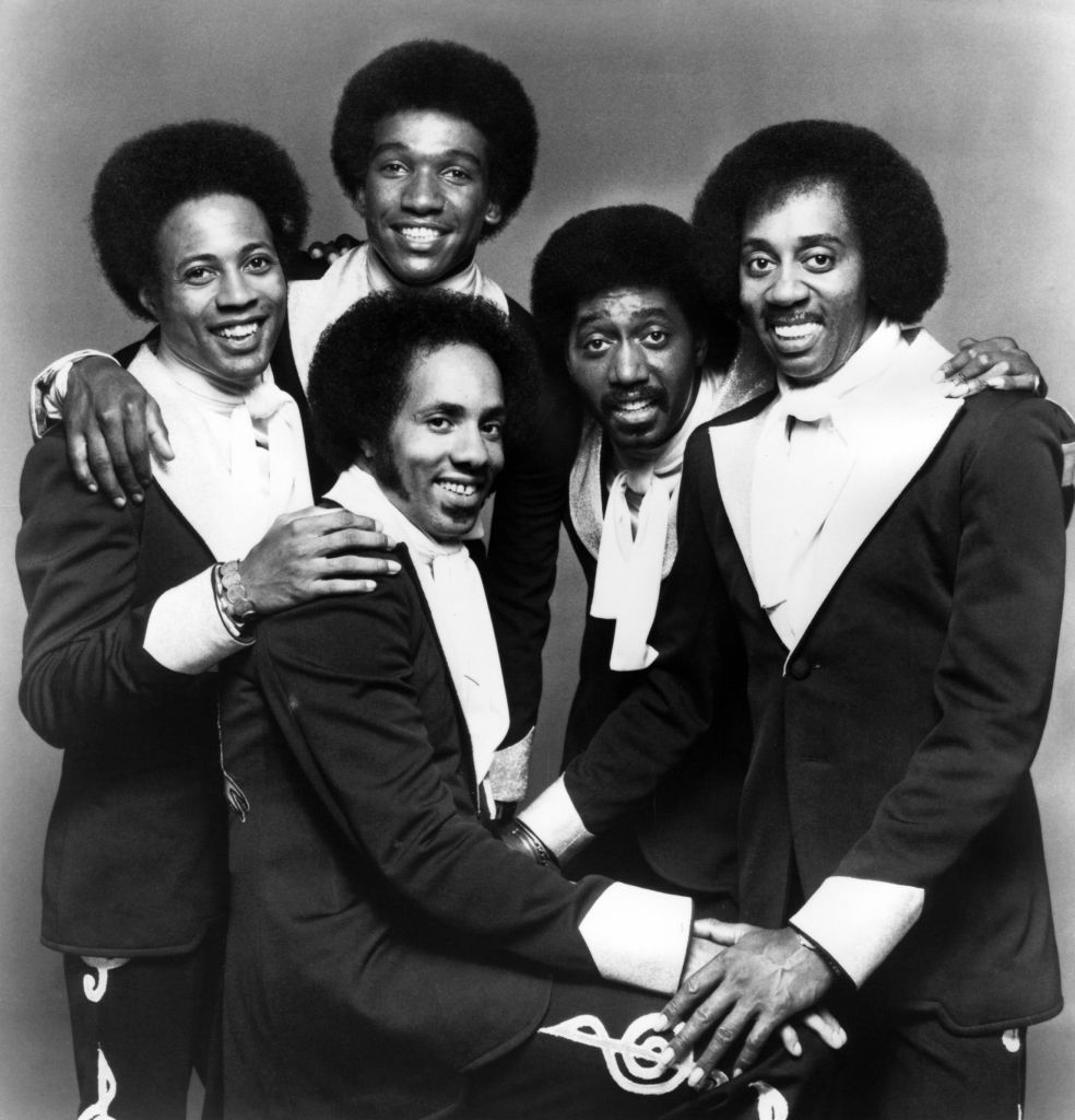 Photo of TEMPTATIONS and Glenn LEONARD and Louis PRICE and Melvin FRANKLIN and Otis WILLIAMS and Richard STREET